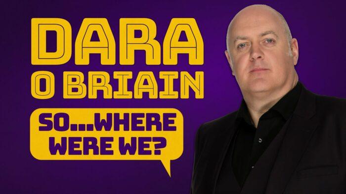 Dara O'Briain, Comedy News, Tour News, TotalNtertainment