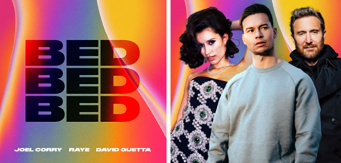 David Guetta, Joel Corry, Raye, Bed, New Release, TotalNtertainment