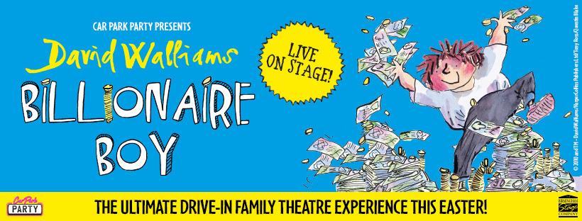 David Walliams, Car Park Party, Theatre, Tour, Leeds, TotalNtertainment
