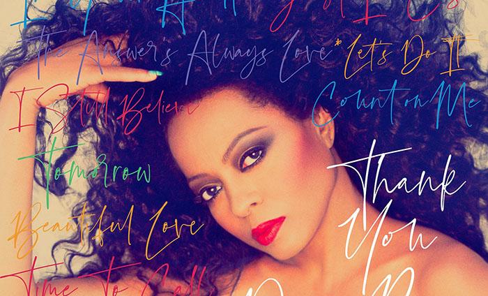 Diana Ross, Thank You, New Album, Music, TotalNtertainment