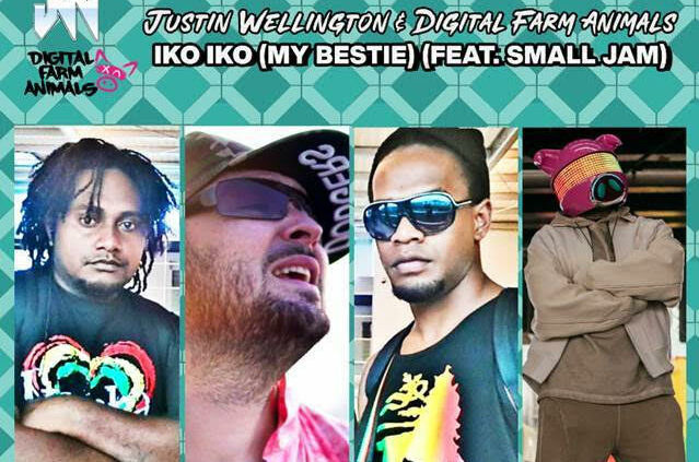 Justin Wellington, Digital Farm Animals, Music, Iko Iko, New Release, TotalNtertainment
