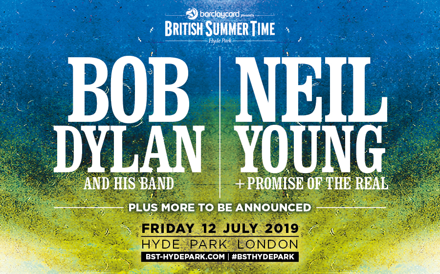 Bob Dylan, Neil Young, BST, BST Hyde Park, TotalNtertainment, Music, Festival