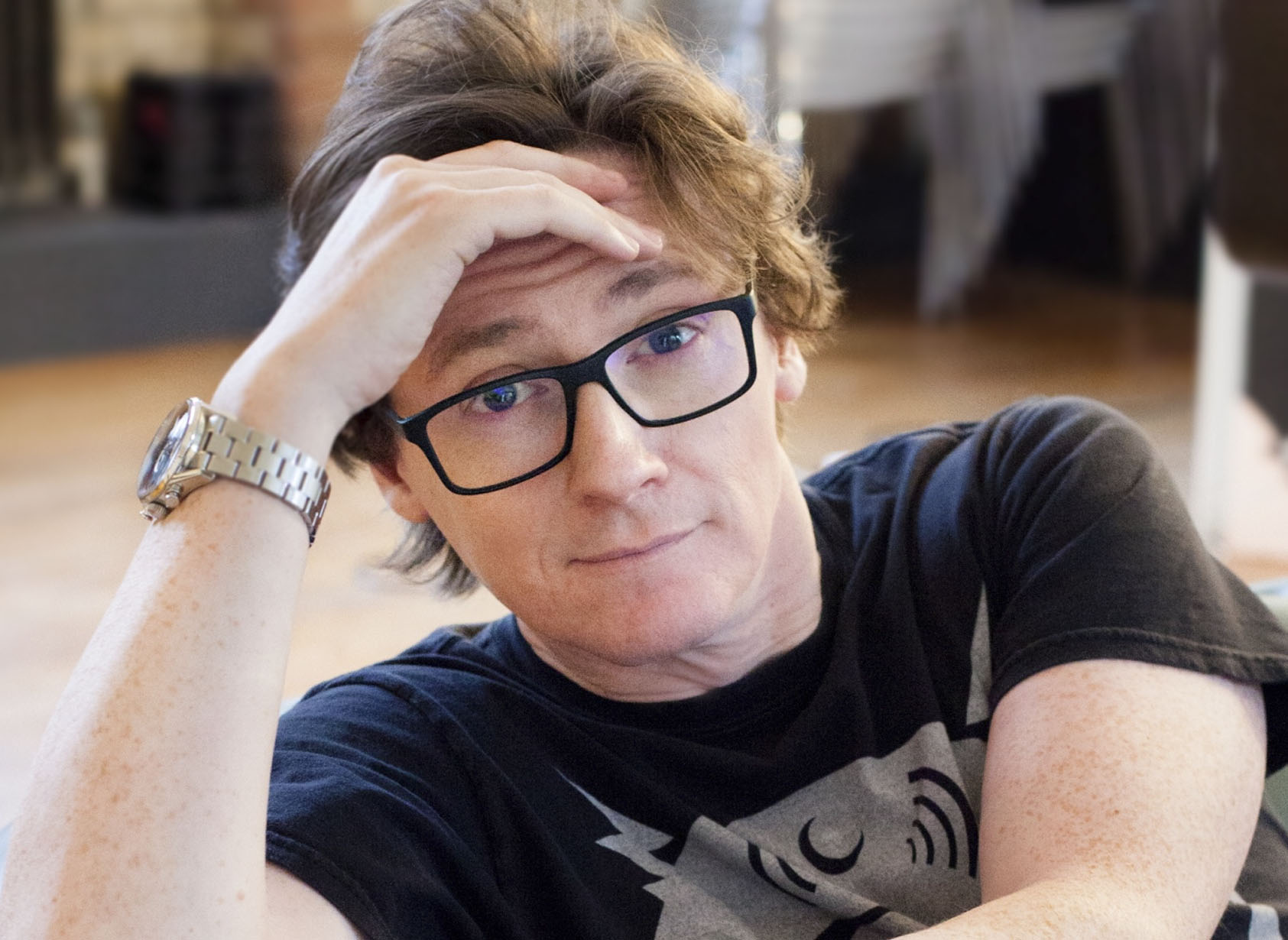 Ed Byrne gives an interview to Brian Donaldson