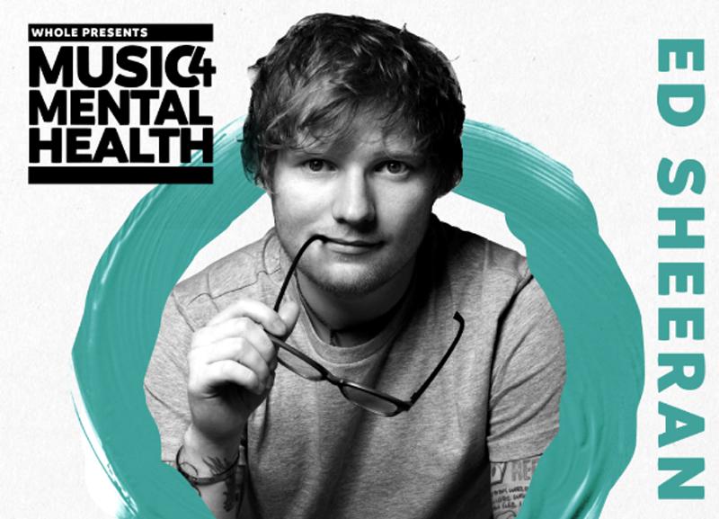 Ed Sheeran, Music 4 Mental Health, London, TotalNtertainment