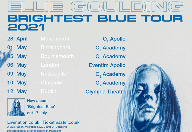 Ellie Goulding, Music, Tour, Brightest Blue, Newcastle