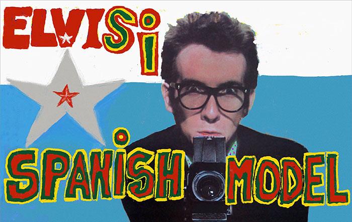 Elvis Costello, Music News, TotalNtertainment, Spanish Model