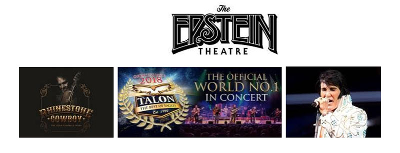 Epstein Theatre, Liverpool, TotalNtertainment, Elvis, The Eagles, America, Music