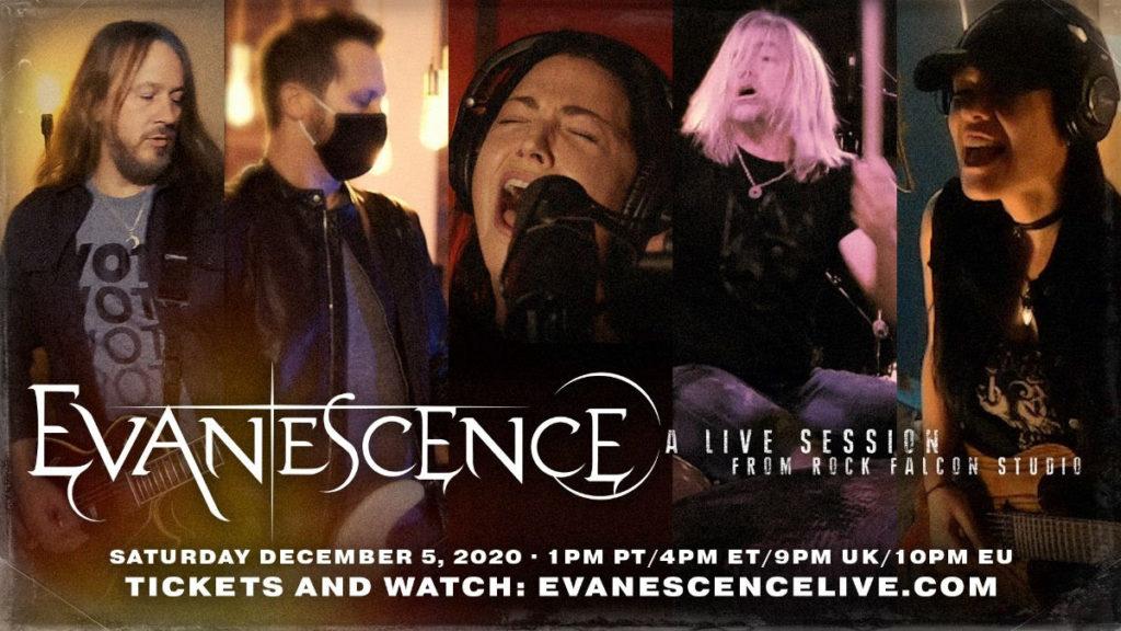 Evanescence, Music, Live Stream, TotalNtertainment