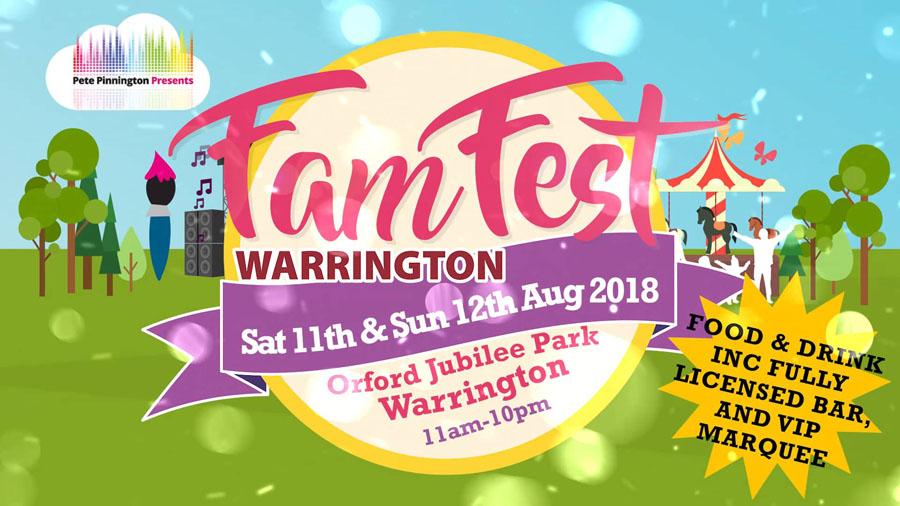 FamFest Warrington Reveals A Fabulous Live Music Line-Up