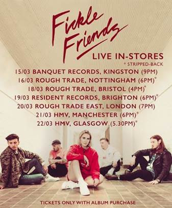 Fickle Friends, Manchester, tour, new album, totalntertainment