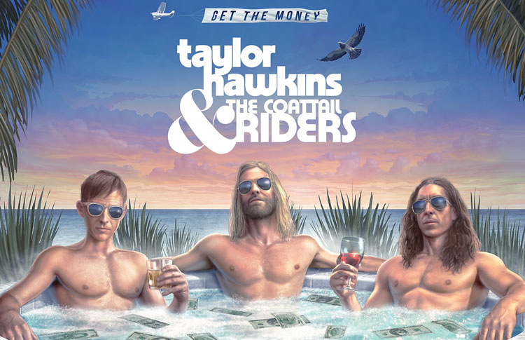 Taylor Hawkins, The Coattail Riders, Music, TotalNtertainment, New Album