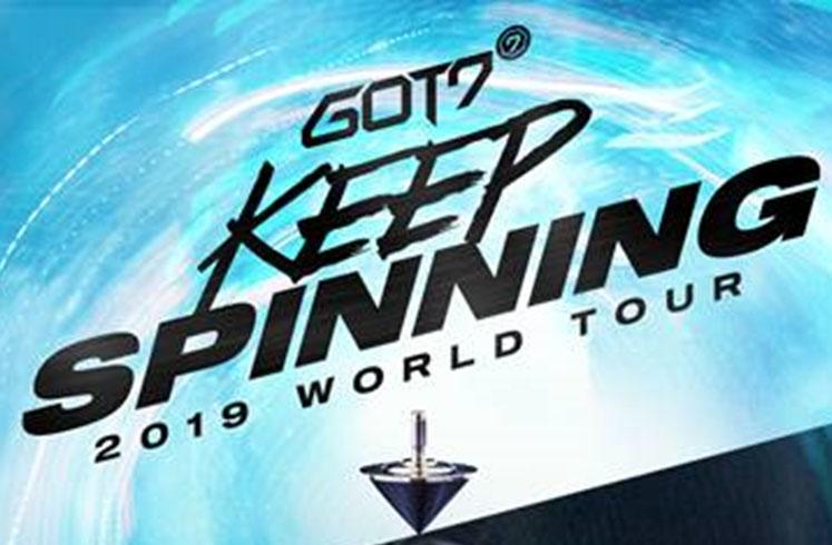 GOT7, K-Pop, Music, Tour, London, TotalNtertainment
