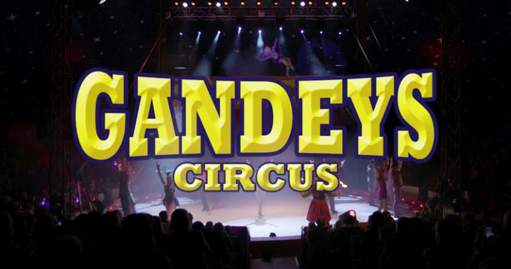 COMPETITION TIME – Win Tickets to Gandey's Circus