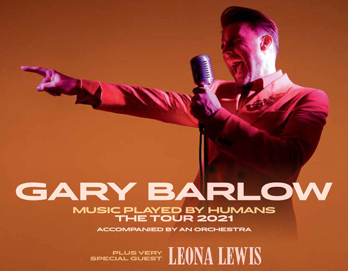 Gary Barlow, Leona Lewis, Music, Tour, Leeds, TotalNtertainment