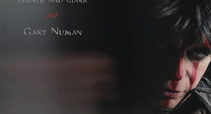 'Saints and Liars' new from Gary Numan