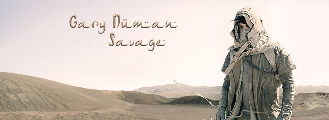 Gary Numan, Savage, tour, new album, totalntertainment
