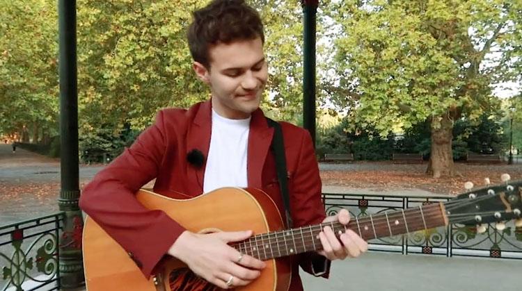 George Pelham, Music, TotalNtertainment, New Single, Acoustic