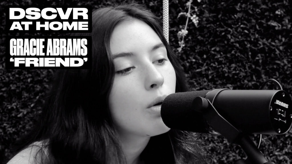 Gracie Abrams, Music, Live Performance, DSCVR At Home, Vevo, TotalNtertainment