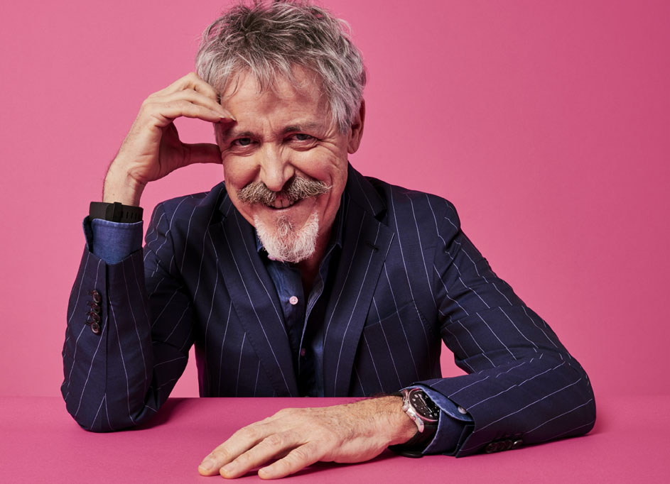 Griff Rhys Jones promotes his new tour in a recent  interview