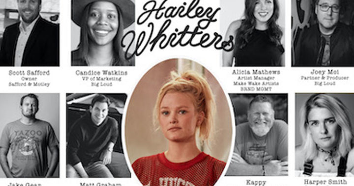 Hailey Whitters partnership with Big Loud Records