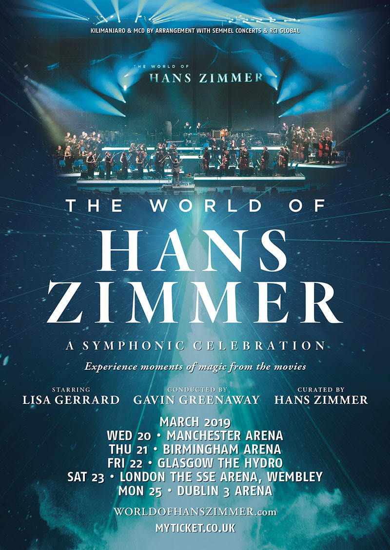 Hans Zimmer, Tour, TotalNtrtainment, Music, Manchester