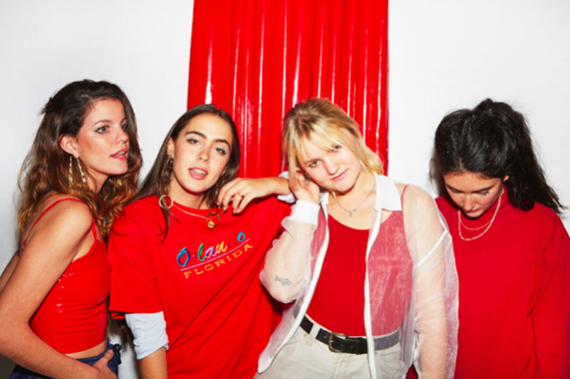 Hinds, Tour, Manchester, TotalNtertainment, Music