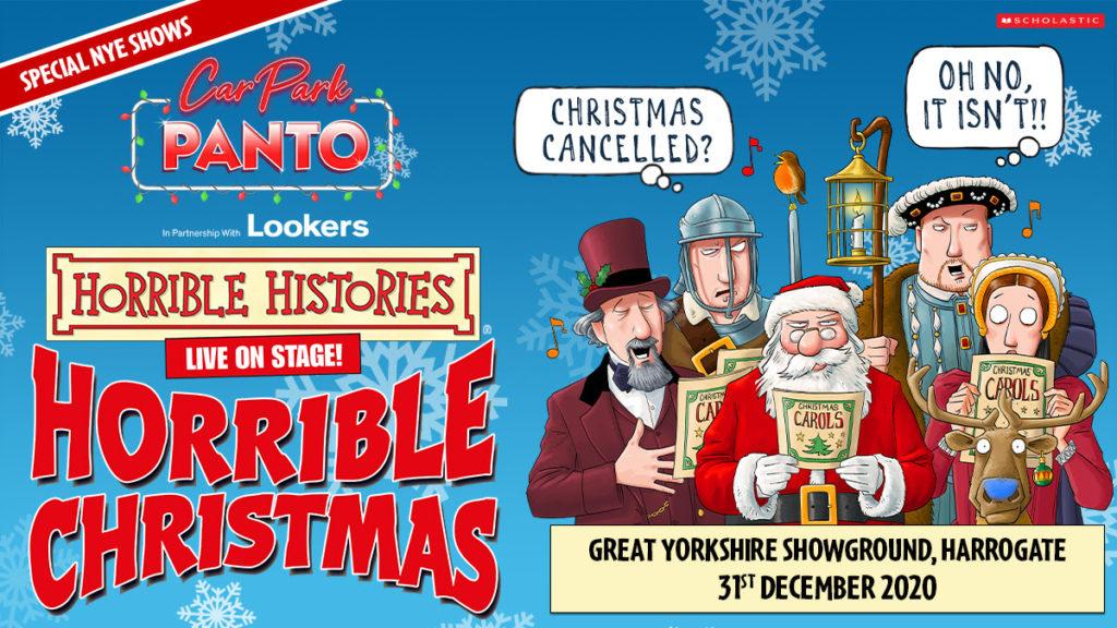 Horrible Histories, Theatre, TotalNtertainment, Car Park Panto, Harrogate