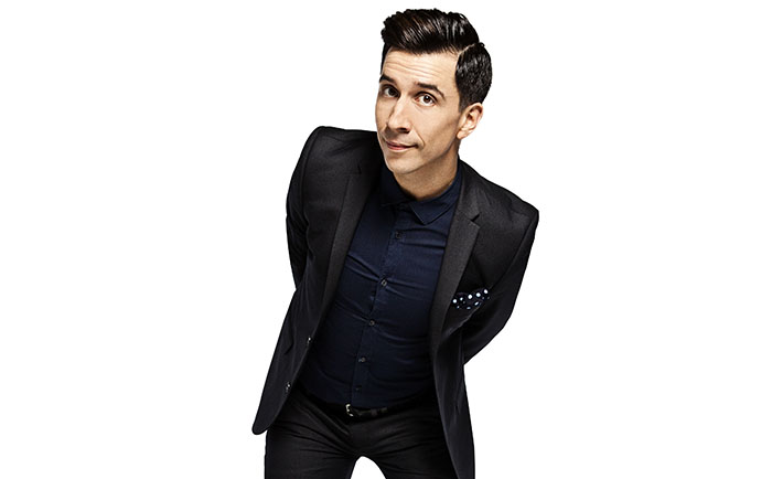 Russell Kane, Comedy, Stand Up In The Park, Festival, Milton Keynes, TotalNtertainment
