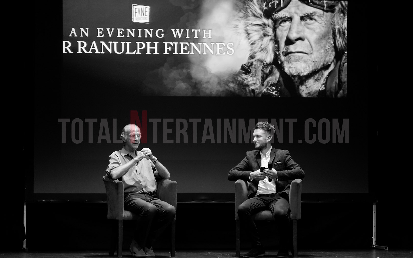 An intimate evening with Sir Ranulph Fiennes at York Grand