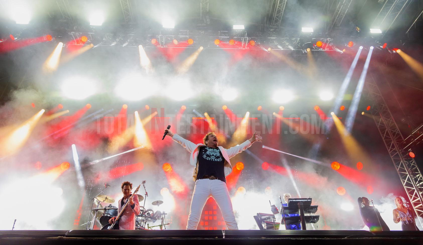 Duran Duran, Music, Live Review, TotalNtertainment, Jo Forrest, Scarborough Open Air Theatre