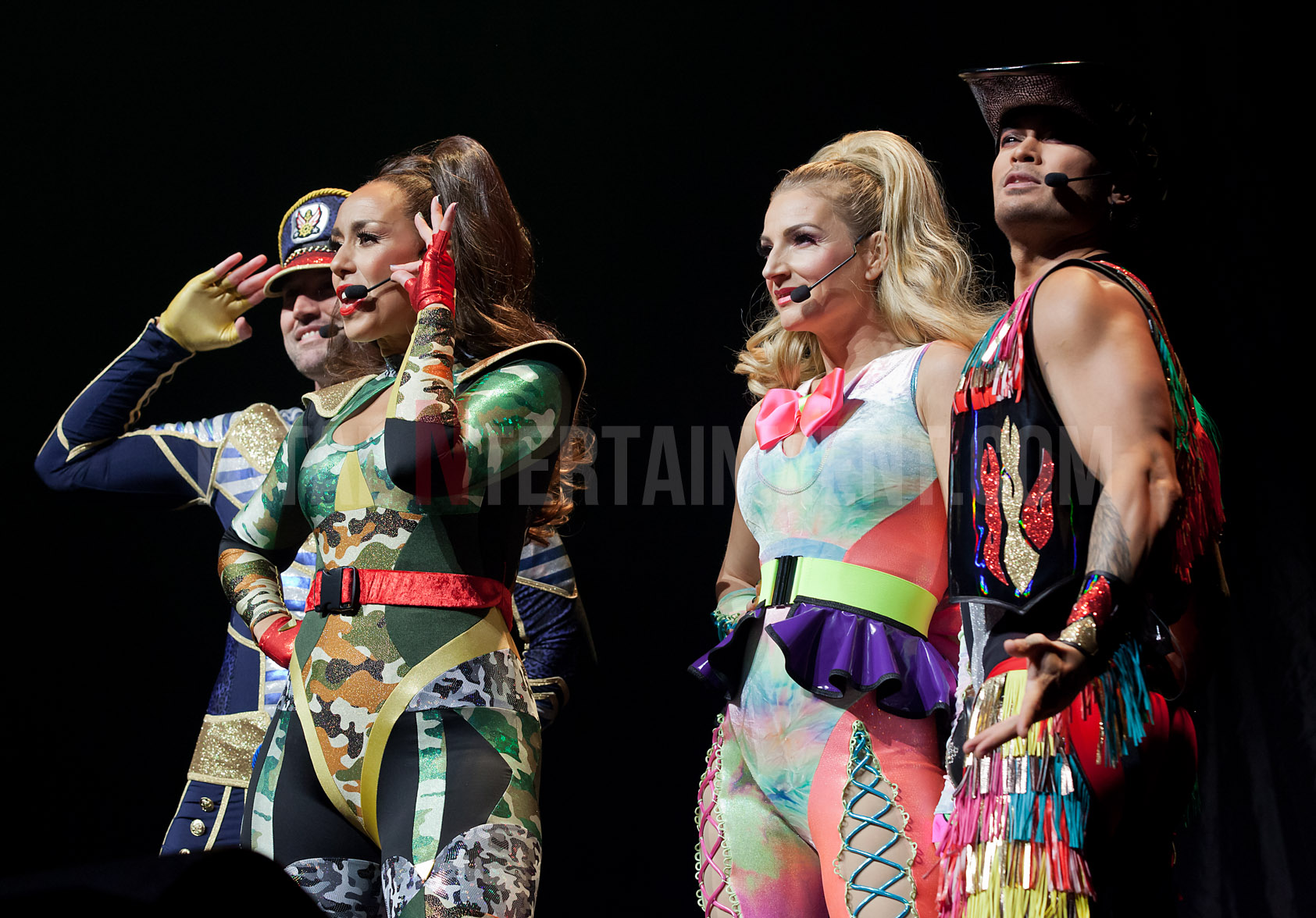 The Vengaboys get the Echo Arena rocking with hit after hit