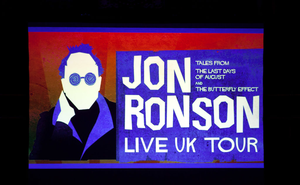 Jon Ronson, Review, Jo Forrest, TotalNtertainment, Leeds, Graham Finney, Theatre