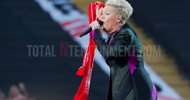 P!nk puts on a breathtaking high rise show at Anfield