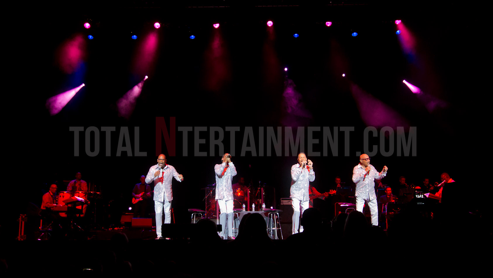 The Four Tops, Leeds, First Direct Arena, Jo Forrest, review, TotalNtertainment