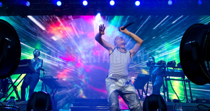 Years and Years put on colourful show in Scarborough