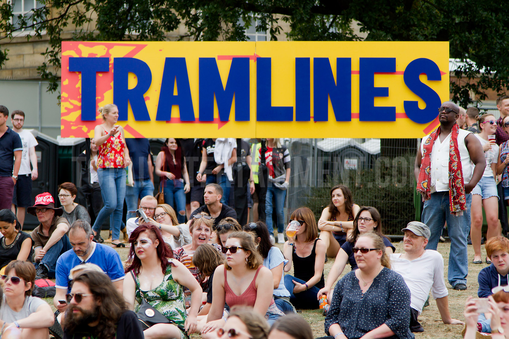 Crowd, Tramlines, Sheffield, Jo Forrest, Festival