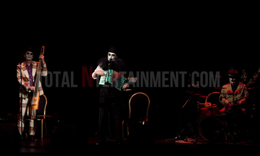 The Tiger Lillies, Leeds, City Varieties, Music, TotalNtertainment, Review, Jo Forrest, Graham Finney