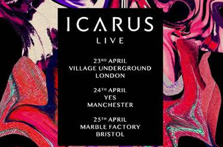 Icarus, Tour, Manchester, Music, TotalNtertainment