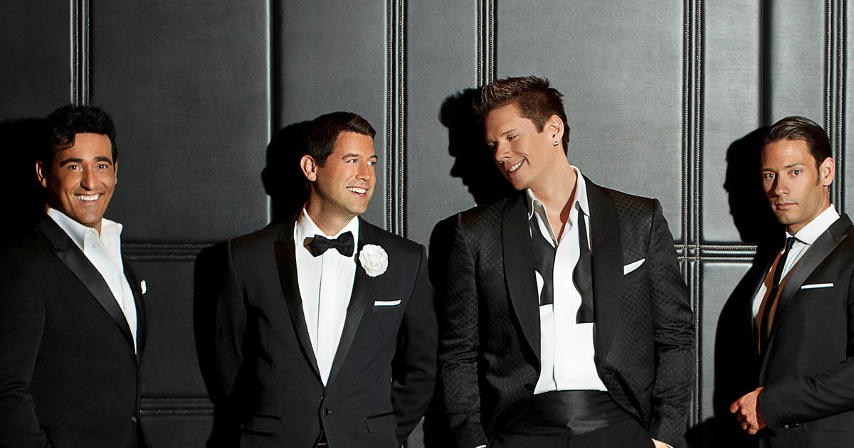Il Divo, tour, totalntertainment, Scarborough, Open Air
