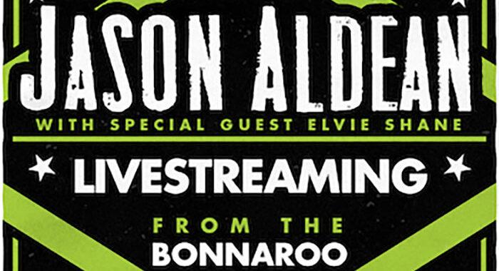 Jason Aldean to Stream Live Show globally