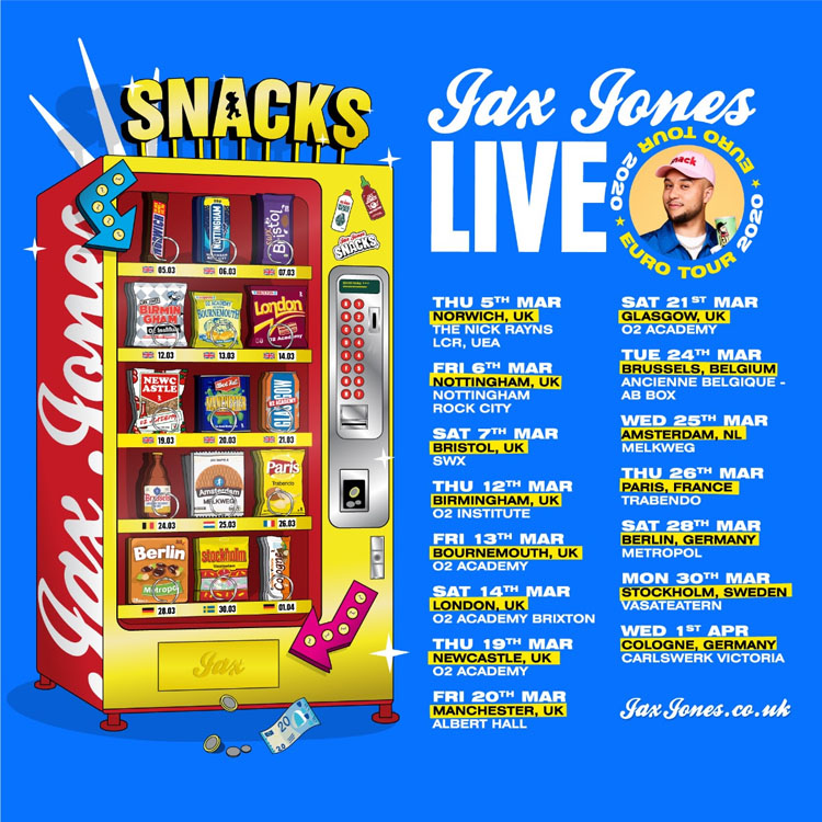 Jax Jones, Music, Tour, Manchester, TotalNtertainment