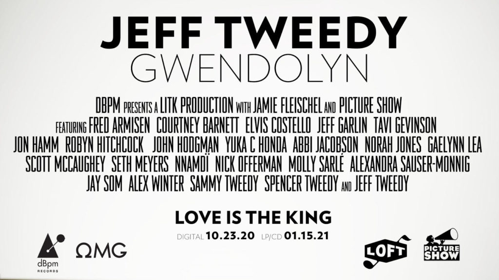 Jeff Tweedy, Music, New Single, Gwendolyn, TotalNtertainment