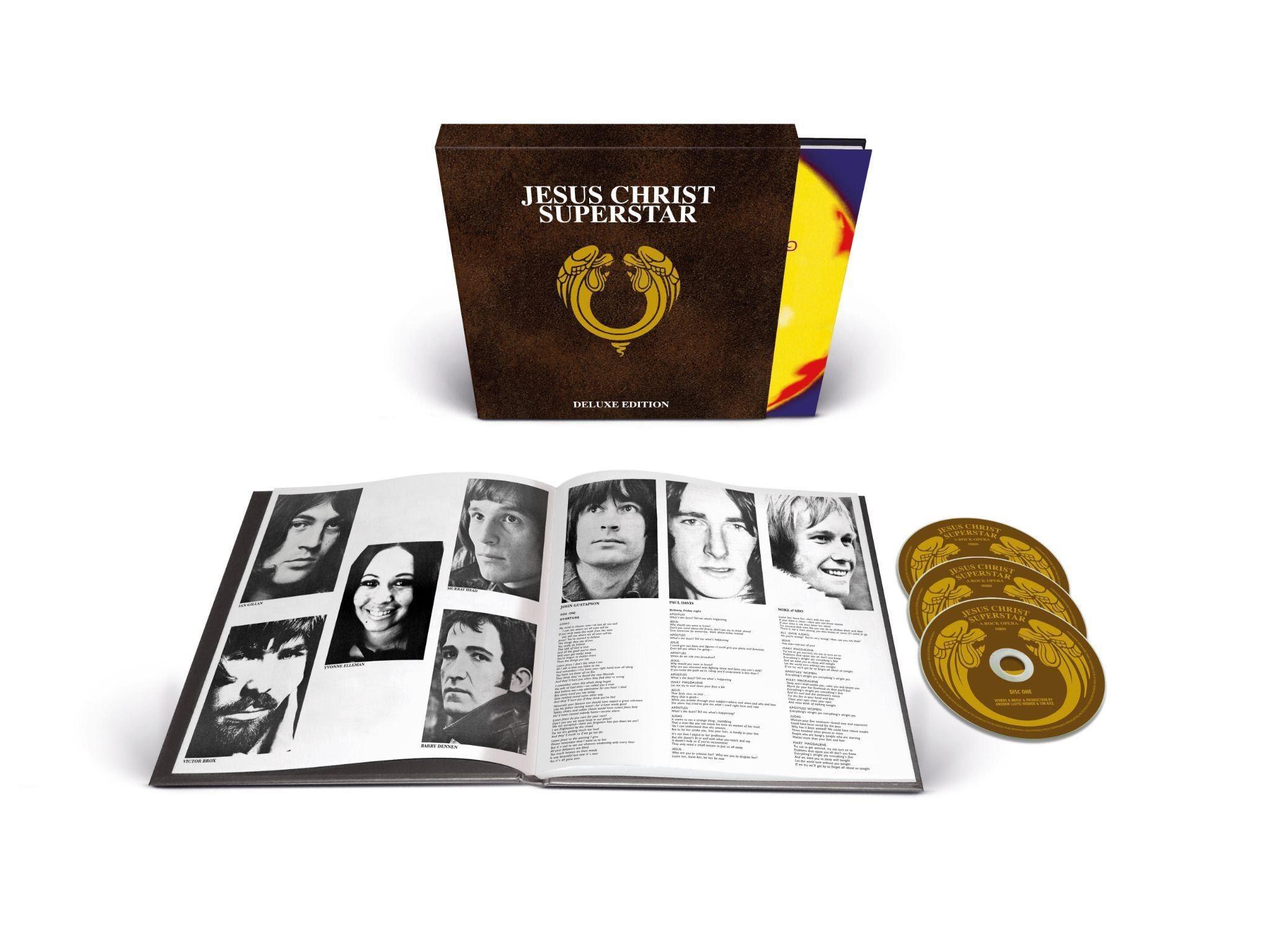Jesus Christ Superstar, Musical Theatre, Album News, Tim Rice, Andrew Lloyd Webber