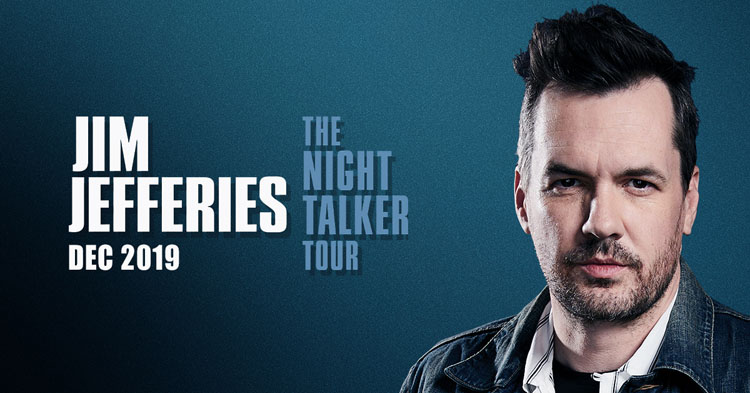 Jim Jefferies, Comedy, TotalNtertainment, Tour, Manchester