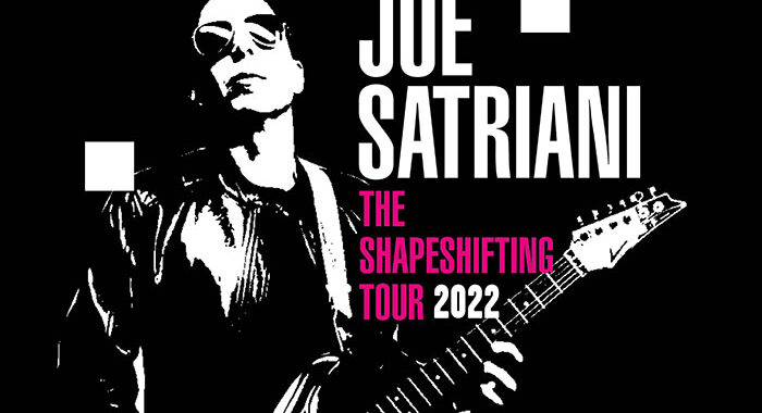 Joe Satriani reschedules Shapeshifting UK Tour