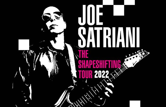Joe Satriani, Music, Tour, TotalNtertainment, Shapeshifting