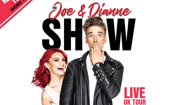 Joe Sugg, Dianne Buswell, Music, Comedy, Tour, TotalNtertainment, Rescheduled dates
