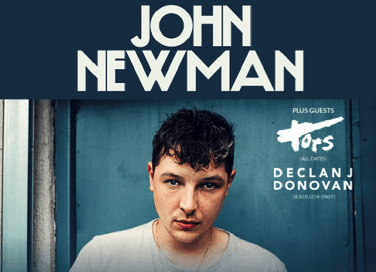 John Newman, Music, Tour, Leeds, TotalNtertainment