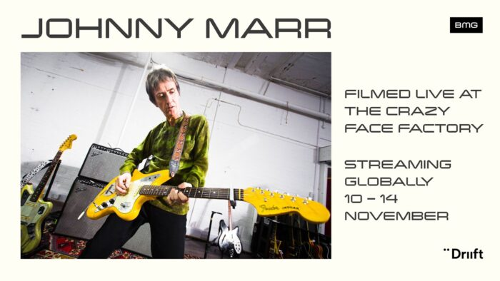 Johnny Marr, Live At The Crazy Face Factory, Live Event, Music News, TotalNtertainment