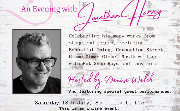 An Evening With, Jonathan Harvey, Theatre, TotalNtertainment, Hope Mill Theatre